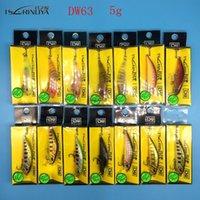 Tsurinoya Nuovo prodotto 14 Colori 5G / 5CM Bait Hard Bait Small Minnow Pish Peschette Esche BASSA BASSARE WABBLED PESCA 201031