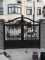 Puerta de la cerca de aluminio cerca de ME Metal Fence Gate Gates de aluminio para la venta