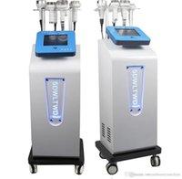6 em 1 ultra-sônico 80k Cavitação emagrecimento rosto e corpo moldando lipoaspiração de vácuo DDS Roller Massage Instrumento de levantamento frete grátis