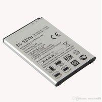 Yeni Yedek BL-53YH Piller için LG G3 D858 D859 D830 D850 D851 D855 F460 F400K / S / L VS985 Li-Ion Pil