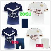 2020 2021 Maillot Girondins de Bordeaux Soccer Trackss Briand S.kalu Kamano Benito Основные пользовательские 20 21 Домашний Взрослый Детский футбол
