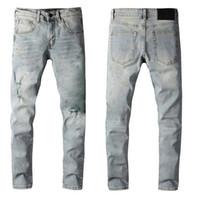 Мужчины Классические джинсы мужские тонкие брюки мужские байкер Masculino бизнес брюки мужские моды повседневные джинсы зрелые модные весенние суту осень горячие новые брюки