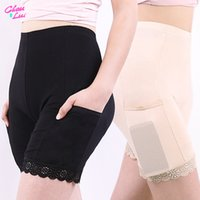 Chau Lui Weiche und bequeme Baumwollmaterial Boxer Shorts Sicherheitshose für Frauen Höschen Plus Große Größe Hohe Taille Unterwäsche Y1119