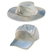 Breite Krempe Hüte Runde Kappe Fischer Hut Sonnencreme Kühlkomme Klimaanlage Sonne Anti-Ultraviolett Arctic