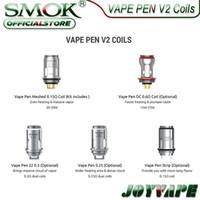 FUEVO VAPE PEN 22 V2 Reemplazo de la pluma VAPE 22 0.3 / 0.25HM Malshed 0.15OHM DC 0.6OHM Strip 0.15Ohm x4 0.4Ohm para Vape Pen 22 V2 Kit