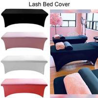 Professionelle spezielle Wimpernverlängerung Elastische Bettabdeckung Blätter dehnbarer unterer CILS-Tischblatt für Lash-Bett-Makeup-Salon