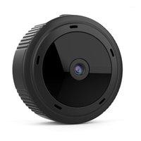 Mini kameralar wifi kablosuz web kamerası yüksek çözünürlüklü akıllı kamera ev açık bahçesinde W10 AS991