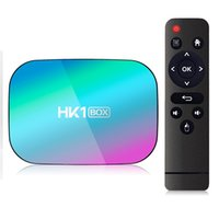 HK1 TV Box Android 9.0 Amlogic S905x3 RAM 4GB ROM 32 / 64GB دعم Bluetooth 5.0 المزدوج واي فاي