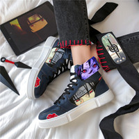 Luxurys Designers Chaussures Naruto Chaussures Hommes Chaussures Anime Akatsuki Itachi Cosplay Cosplay