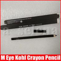 M maquillaje de ojos Kohl Lápiz de color Lápiz Delineador de ojos Lápiz 1,45 g Enfriar Negro Delineador Pen