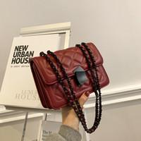 HBP Messenger Handbag Bag Fashion New Chain Texture Check Quality Designer Design Woman Shoulder High Bkcmt