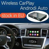 Drahtlose CARPLAY-Schnittstelle für Mercedes Benz ML GL W166 x166 2012-2015, mit Android Auto Mirror Link Airplay Auto Spielfunktionen