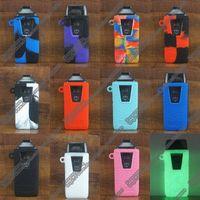 Casos Designers Nautilus AIO Caso Vape POD Starter Kit capa de silicone de silicone pele de couro cigarros eletrônicos DHL FEDEX grátis