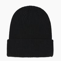 Heißer Verkauf Warme Mütze für Männer Frauen Schädelkappen Herbst Winter Hut Hohe Qualität Gestrickte Hüte Casual Fisherman Gorro Dicke Skullies Mannkappe