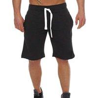 2020 Yeni Erkekler Yaz Pamuk Rahat Kısa Pantolon Giyim Camo Gevşek Erkek Şort Streetwear Beş Noktası Pantolon