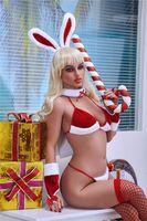 ajdoll-168cm 섹스 인형 크리스마스 현실적인 질 중간 유방 남성 자위 성인 장난감