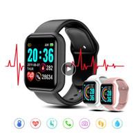 Y68 Смарт Часы Фитнес браслет активность Tracker Монитор сердечного ритма артериального давления Bluetooth часы для Android VS Лос B57 B58