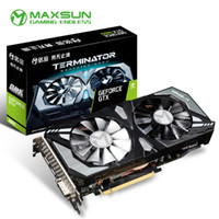 Maxsun GeForce GTX 1660 6G Grafikkarte Nvidia GDDR5 GPU Gaming-Grafikkarte Video für PC