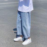 Frühling 2021 Herren- und Winter-Neue breitbeinige gerade Beine M-3XL Größe Brem Hosen Mode Junge Kleidung CCJs