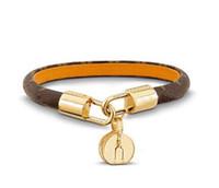Modeschmuck Liebesschloss V Armbänder Armreifen Pulseiras Leder echte Lederarmbänder für Frauen / Männer Hohe Qualität