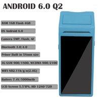 GOOJPRT 3-IN-1 PDA 바코드 카메라 내장 스캐너 핸드 헬드 터미널 Android 열 블루투스 프린터 W / NFC Data Collector1