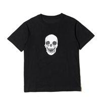 19SS Kafatası Erkekler T Gömlek Yüksek Kaliteli Hip Hop Kısa Kollu Kadın Erkek Stilist T Gömlek