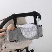 Bolsas de pañales Bebé Nappy Mochila Bolsa de momias Cochecito de gran capacidad Mamá MULTIFONA A prueba de agua Viajes al aire libre Bolsas de enfermería1