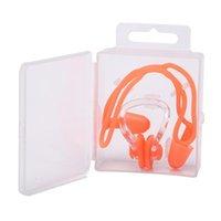 방수 부드러운 수영 이어폰 코 클립 케이스 보호 방지 물 보호 귀 귀마개 소프트 샴 다이브 jllpot