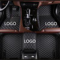 Para BMW 1 2 3 4 5 7 Series X1 X6 X3 X6 GT Serie Z4 Almohadilla de pie impermeable a prueba de agua para el interior del automóvil