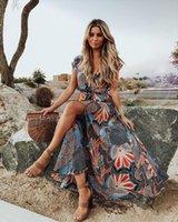 Strand-Coverups für Frauen Lange Badekleider Umhänge Abdeckung UPS Plus Size Beachwear Kaftan Plage Boho Chic Summer Swim Wear Blume