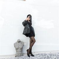 جديد أزياء العلامة التجارية الإنجليزية الأبجدية أفخم طبقة مزدوجة جوارب طويلة متعددة الاستخدامات، المضادة هوك الحرير، اللحوم وهمية، الساق العارية