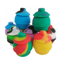 Contenedor de aceite de olla de 35 ml para cera de almacenamiento de contenedor de silicona sin paletas Color surtido
