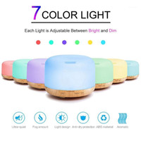 300ml Air Humidifier Difusor de Óleo Essencial Ultrasonic Mist fabricante de névoa Fogger Umidificador LED Lâmpada Aroma Difusor Electric1