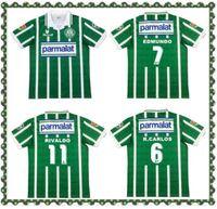 1993 Palmeiras Retro Soccer Jerseys 1993 1994 Maison Vintage Vintage Camiseta de futbol Classic 92 93 94 Chemises de football