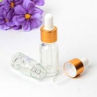 1 pc Garrafa de óleo essencial de vidro transparente 5ml Garrafa de óleo essencial de geladeira de óleo puro frasco de essência sub-engarrafada