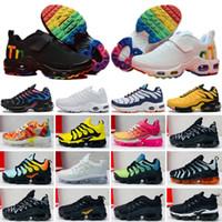 Nike Mercurial Air Max Plus Tn 2019 hot Infant Kids Tn Running Shoes Air Grey White Black Children Sport Shoes Toddler Maxes Trainers Plus Rainbow Boy Girl Tns Sneaker