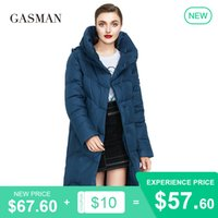 GASMAN Long warm brand down parka women's winter jacket For women coat hooded outwear oversize Female fashion puffer jackets 009 201020