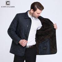 Stadtklasse Neue Business Frühling Herbst Herren Steppgelenkjacken Mode Futter Fleece Casual Mantel Tops für Männern 15307 201114