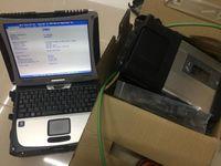 Ferramentas Diagnósticas Diagnosticar MB SD C5 Multiplexer com CF-19 Laptop CF19 PC ST Software em HDD para Scanner de carro e caminhão Full set1