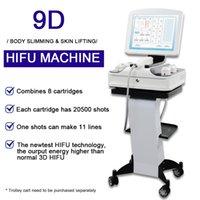 2021 Yeni 3D HIFU Yüz Kaldırma Makinesi HIFU Kırışıklık Temizleme Cilt Gençleştirme Vücut Zayıflama Cilt Bakım Ekipmanları