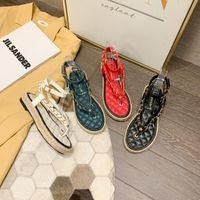 Monmoira Mixte Couleurs Gingham Plateforme Sandales Femmes Gold Chain Flip Flops Espadrilles Boucle Boucle Strap Chaussures Chaussures Femmes