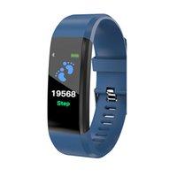 جديد ID115 زائد سوار الذكية اللياقة البدنية تعقب الذكية ووتش معدل ضربات القلب watchband smartwrisband