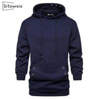 Sweats à capuche Homme Sweatshirts Mens Solid Couleur Harajuku Pullovers Sweat à capuche Hommes Sports Porter Sweat-shirt Créwneck surdimensionné