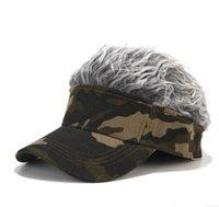 Peruk Kamuflaj Beyzbol Şapkası Postiş Sokak Trendi Şapka Kadın Ve Erkekler Rahat Spor Golf Kap Ayarlanabilir Yeni Kapaklar için Güneş Koruma DDC4313