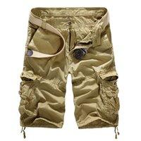 أزياء الرجال أزياء بلون الصيف جديد الصيف عارضة فضفاض ضئيلة متعددة جيب الأدوات كبيرة الحجم السراويل Y200108