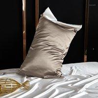 Fronha de seda almofada de almofada de sopa de gelo almofada de látex fronha de travesseiro capa de núcleo único único cetim1