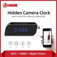 Amudb Zeit Wecker 1080P Wifi Mini Kamera Wireless Bewegungssensor Nanny H.264 IP Security Night Vision Home Remote Camera1