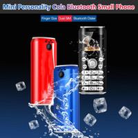 Dual Dialer SIM Bluetooth Super Mini K8 Push Telefone Móvel 1.0 Polegada Mãos Telefone Celulares MP3 Menor China Celular Câmera Câmera GSM 4 Bandas Celular