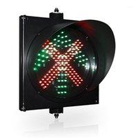 """ضوء المرور حصيلة بوابة موقف سيارات 12 """"الأحمر الأخضر arrow 2 في 1 light1"""
