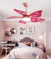 Nordic Bedroom Decor Lights Lights per camera Il soffitto Ventilatore Lampada da cucina Ristorante Sala da pranzo Ventilatori a soffitto con luci Telecomando